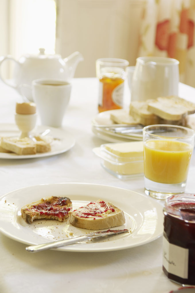 Eating breakfast is important to avoid fatigue in the day at work
