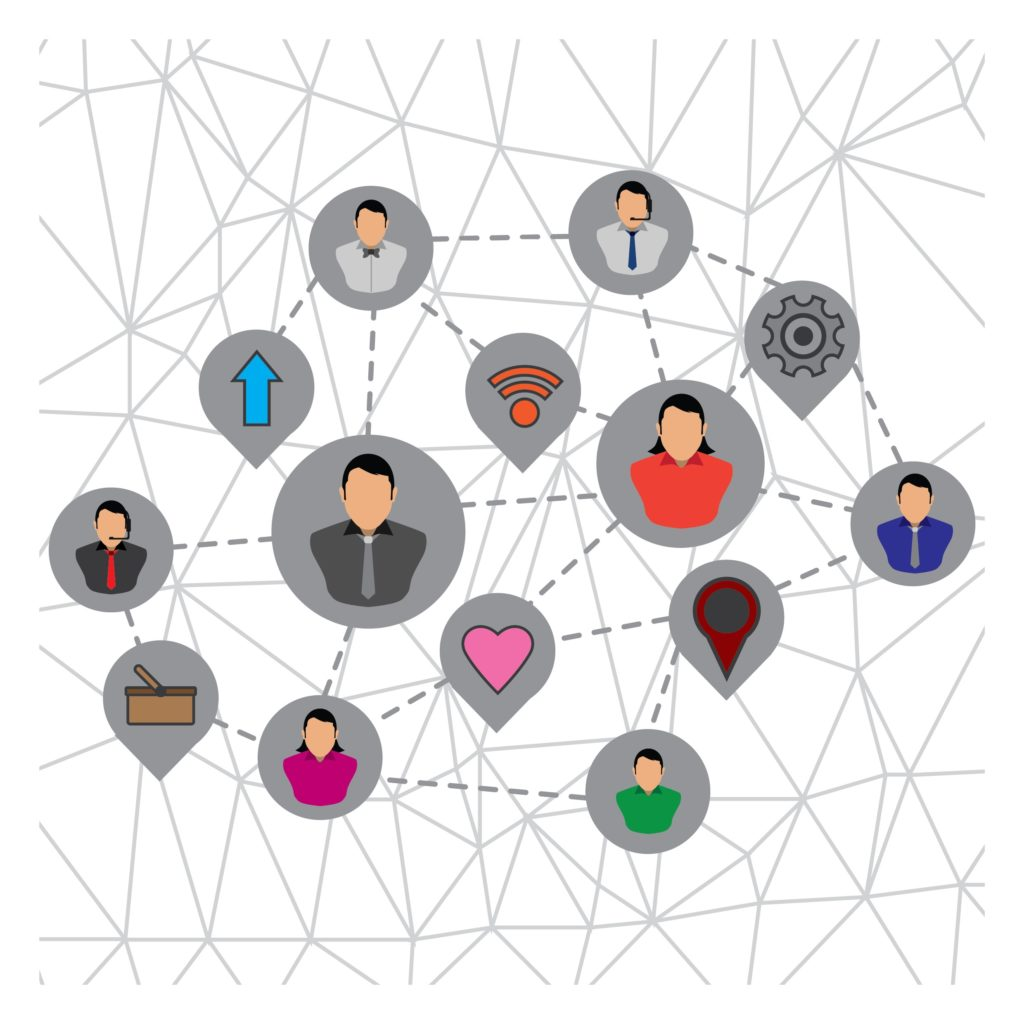 Build a network of relationships